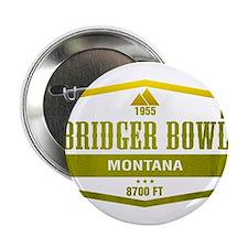 "Bridger Bowl Ski Resort Montana 2.25"" Button"