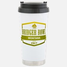 Bridger Bowl Ski Resort Montana Travel Mug