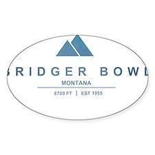 Bridger Bowl Ski Resort Montana Decal