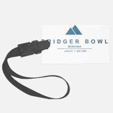 Bridger Bowl Ski Resort Montana Luggage Tag