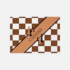 Chess Pennant 5'x7'Area Rug