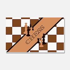 Chess Pennant Car Magnet 20 x 12