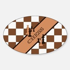 Chess Pennant Decal