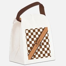 Chess Pennant Canvas Lunch Bag