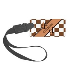 Chess Pennant Luggage Tag
