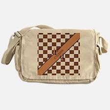 Chess Pennant Messenger Bag