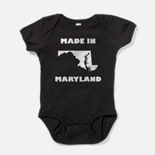 Made In Maryland Baby Bodysuit