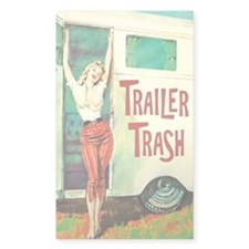 Trailer Trash Bumper Stickers