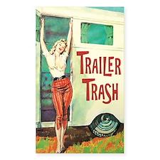 Trailer Trash Stickers