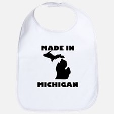 Made In Michigan Bib