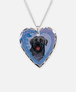 Black Lab Necklace