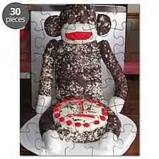 Happy birthday sockmonkey Puzzle