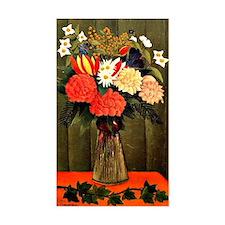 Henri Rousseau - Bouquet of Fl Decal