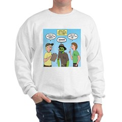 Zombie Scout Menu Planning Sweatshirt
