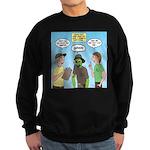 Zombie Scout Menu Planning Sweatshirt (dark)
