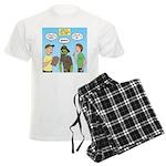 Zombie Scout Menu Planning Men's Light Pajamas