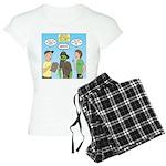 Zombie Scout Menu Planning Women's Light Pajamas