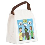 Zombie Scout Menu Planning Canvas Lunch Bag