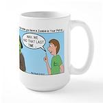 Zombie Scout Menu Planning Large Mug