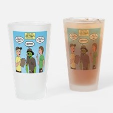 Zombie Scout Menu Planning Drinking Glass