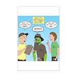 Zombie Scout Menu Planning Mini Poster Print