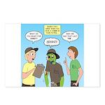 Zombie Scout Menu Plannin Postcards (Package of 8)