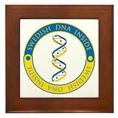 Swedish DNA Framed Tile