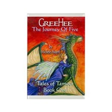 1 GreeHee Dragon & Fairy Rectangle Magnet