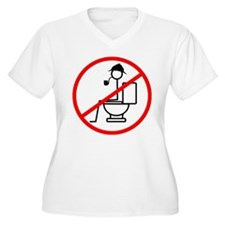 No Shit Sherlock Plus Size T-Shirt