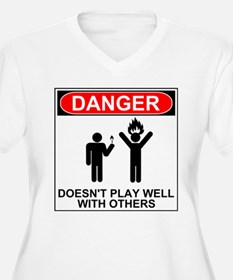 Danger Doesn't Play Well With Others II Plus Size