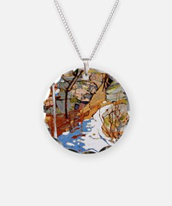 Tom Thomson - Snow and Rocks Necklace