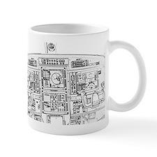 Airplane Instrument Panel Sketch Mugs