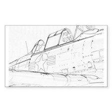 Aviation Sketch Decal