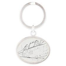 Aviation Sketch Keychains