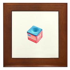 Pool Chalk Framed Tile