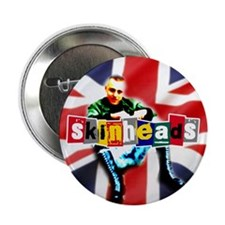 "Skinheads 2.25"" Button"