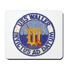 USS WALLER Mousepad