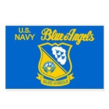 The Navy Blue Angeles Postcards (Package of 8)