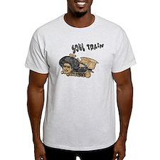 2-soul-train3-thrift T-Shirt