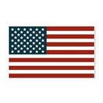 United States of America Rectangle Car Magnet