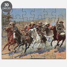 Vintage Cowboys by Remington Puzzle