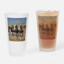 Vintage Cowboys by Remington Drinking Glass