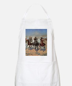 Vintage Cowboys by Remington Apron