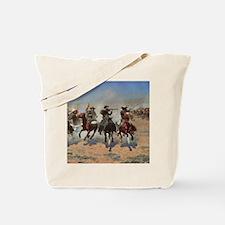 Vintage Cowboys by Remington Tote Bag