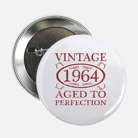 """Vintage 1964 Birth Year 2.25"""" Button"""