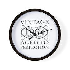 Vintage 1964 Birth Year Wall Clock