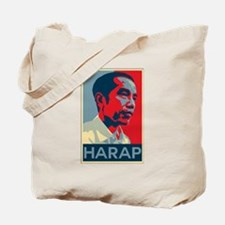 Cute Obama indonesian Tote Bag