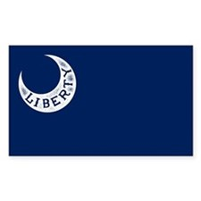 Fort Moultrie Flag Decal