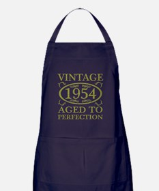 Vintage 1954 Birth Year Apron (dark)