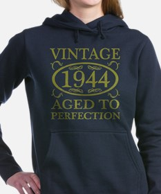 Vintage 1944 Birth Year Women's Hooded Sweatshirt